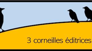 Le logo de la nouvelle maison d'édition scolaire 3 corneilles éditrices