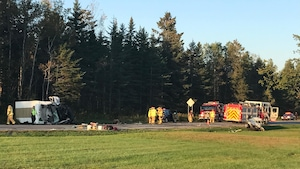 L'accident s'est produit sur la route de la Bravoure, à Shannon.