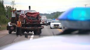 Accident mineur à Sept-Îles