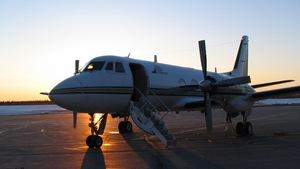 Un avion de Propair à l'aéroport de Rouyn-Noranda (archives)
