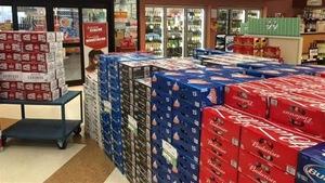 Caisses de bières