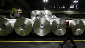 Une usine d'aluminium