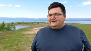 André Michel, responsable du dossier de la rivière Moisie pour le Conseil des Innus de Uashat-Maliotenam