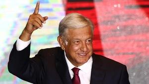 Le nouveau président du Mexique, Andrés Manuel Lopez Obrador