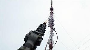L'antenne de Radio-Canada à Baie-Comeau