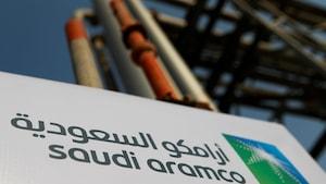 Le logo du géant pétrolier saoudien Aramco