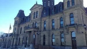L'édifice de l'Assemblée législative du Nouveau-Brunswick