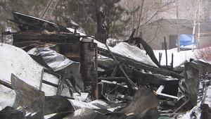Un atelier de canots de Saint-Jean-des-Piles a été la proie des flammes.