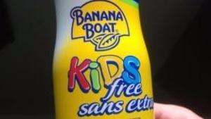 Crème solaire Banana Boat