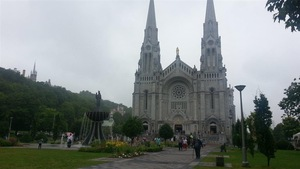 La basilique Sainte-Anne-de-Beaupré