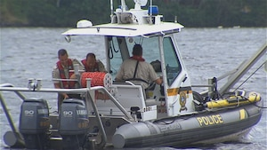 bateau de police de la SQ