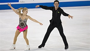 Julianne Séguin et Charlie Bilodeaau