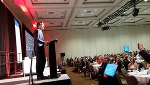 Le ministre fédéral des Finances Bill Morneau est passé vendredi à Halifax puis samedi à Fredericton.