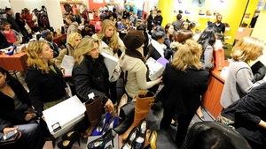 Black Friday au Macy's de New York