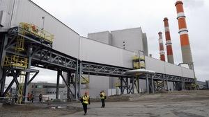 L'usine de captage et de stockage de carbone Boundary Dam, près d'Estevan.