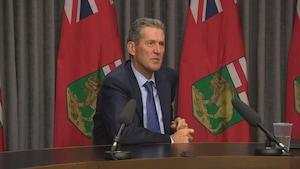 Le premier ministre du Manitoba, Brian Pallister