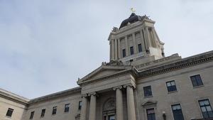 Point de vue sur le Palais législatif.