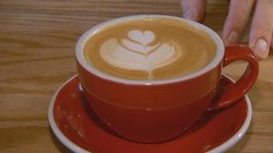 Tasse de café chez Arômes et Saveurs à Baie-Saint-Paul