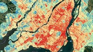 Où fait-il le plus chaud à Montréal… et le plus frais?