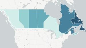 Où le logement est-il le plus abordable au pays? La réponse en carte