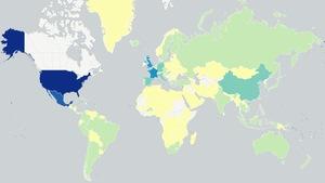 Où les Canadiens préfèrent-ils aller à l'étranger? La réponse en carte