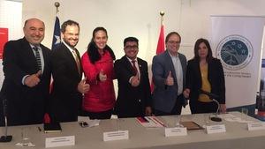 Le Cégep de l'Abitibi-Témiscamingue participe au développement du programme de technologie minérale de deux établissements d'enseignement chiliens.