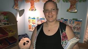 Célia Caissy-LeBlanc, 27 ans, est bénévole dans plusieurs événements, comités et causes dans la Baie-des-Chaleurs.