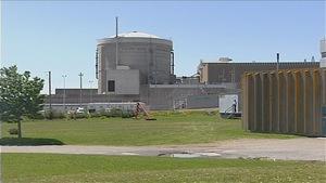 La centrale nucléaire Point Lepreau, au Nouveau-Brunswick.