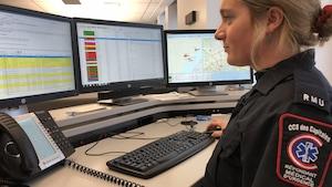 Camille Lemay-Sauvageau, répondante médicale d'urgence.