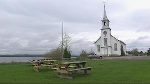 Chapelle Saint-Cyriac à Lac-Kénogami