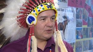 Le chef de la Fédération des nations autochtones souveraines de la Saskatchewan, Bobby Cameron.