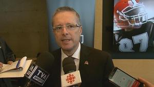 Christian Côté, président du comité organisateur de la Coupe Vanier à Québec 2018-2019