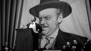 Scène du film <em>Citizen Kane</em> d'Orson Welles