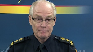 Le chef de police de Saskatoon Clive Weighill