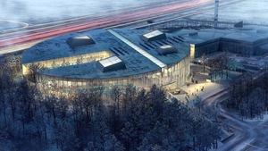 Le futur complexe aquatique de Laval, d'une valeur de 61 millions de dollars.
