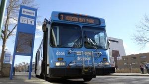 Un autobus de Saskatoon Transit