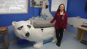 La Dre Chantal Corbeil, pédiatre à l'hôpital Horizon Santé-Nord, à Sudbury.