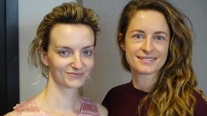 À gauche, Larissa Corriveau, et à droite Christine Beaulieu.