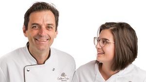Carl Pelletier, chocolatier artisan, et sa fille Paule M-Pelletier, directrice des ventes et relève de l'entreprise