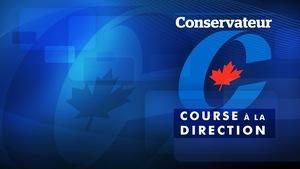 Le logo du Parti conservateur du Canada à l'occasion de la course à la direction.