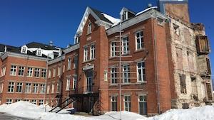 Le couvent des Ursulines situé à Roberval