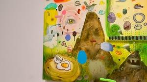 """La nouvelle exposition de l'artiste peintre Dan Brault s'intitule """"Poèmes de mon pays""""."""