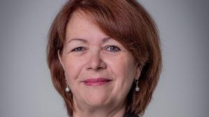 Portrait rapproché de la mairesse de Rouyn-Noranda.