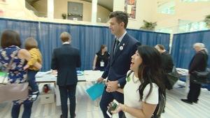 Don Iveson brigue un second mandat comme maire d'Edmonton.