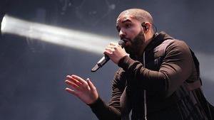 Le chanteur canadien Drake