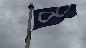 Le drapeau métis