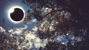 Une éclipse de Soleil
