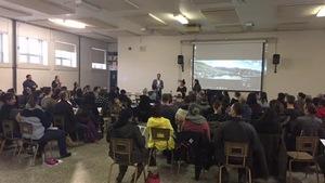 Plus de 100 personnes étaient présentes à la soirée d'information de la CSRN