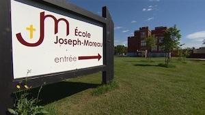 L'École Joseph-Moreau à Edmonton