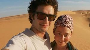 Lucas Tacchetto et Edith Blais